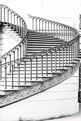 Schlosstreppe 4 (===\WR\===) Tags: wiesbaden biebrich schloss schlosstreppe treppe schwarz weiss black white schwarzweiss blackwhite leitz leica elmarit 90mm sony alpha 7ii 7markii 7mii 7m2