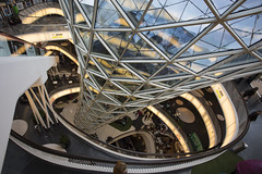 MyZeil (IseeCanonshoots) Tags: frankfurt zeil myzeil shopping architecture round circle white high height