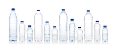 Bottled water (reesycup) Tags: blue bottledwater color drink freshness groupofobjects healthcareandmedicine isolatedonwhite liquid nobody panoramic plastic variation water waterbottle bottle group horizontal isolated naturalspringwater naturalwater springwater studioshot transparent vertical