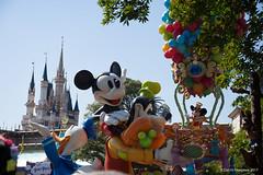 Mickey Mouse (D.Kitagawa) Tags: tdl mickey cinderellacastle parade 東京ディズニーランド ミッキーマウス シンデレラ城 パレード