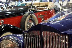 Packard Twelve  Torpédo double phaéton style LeBaron 1937 (fangio678) Tags: retromobile paris 09 02 2017 packard twelve americaine logo badge calandre radiator radiateur torpédo double phaéton lebaron 1937 voiture voituresanciennes ancienne collection cars classic coche oldtimer youngtimer