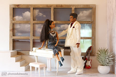 going out tonight (photos4dreams) Tags: dolls27042017p4d barbie regularlifeinthedollhouse doll photos4dreams p4d photos4dreamz toy puppe dress mattel barbies girl play fashion fashionistas outfit kleider mode puppenstube tabletopphotography jayden misty prince
