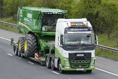W14 COY (panmanstan) Tags: volvo fh wagon truck lorry commercial freight transport heavy agricultural haulage vehicle m18 motorway langham yorkshire