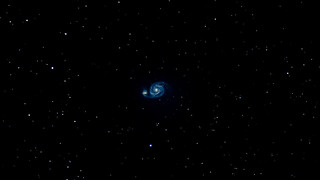 M51 galaxy and NGC 5198