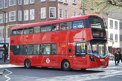 Arriva London HV282 LK17AKO (Will Swain) Tags: london st pancras international 7th april 2017 bus buses transport travel uk britain vehicle vehicles county country england english marylebone arriva hv282 lk17ako