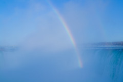 Over the rainbow (Pics_Fab) Tags: niagara niagarafalls blue rainbow bleu nature paysage arcenciel picsfab