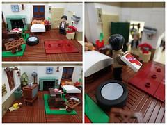 Mr. Bean´s Home (-Balbo-) Tags: lego mr bean creation moc bauwerk flat home teddy series