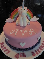 Unicorn Cake (Victorious_Sponge) Tags: unicorn pink rainbow cake birthday girls