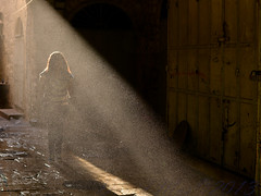 the girl who was dead (David Mor) Tags: morning light oldcity jesuschrist gerusalemme jrusalem   orphanhouse  gospelofmark erusalem vangelodimarco        talithakoumi      churchinbangladesh orphelinatdefillettes