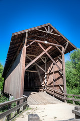 Felton Covered Bridge (RoamingTogether) Tags: california bridge nikon coveredbridge felton tamron hdr centralcalifornia feltoncoveredbridge nikond700 283003563