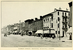 1913 Market Street, St Louis, MO, Fronting Municipal Courts 1913 - Central traffic-parkway of St. Louis ~ ordinance passed by the municipal assembly - city plan commission (carlylehold) Tags: street sign st louis market mo buffet 1913 falstaff weekes