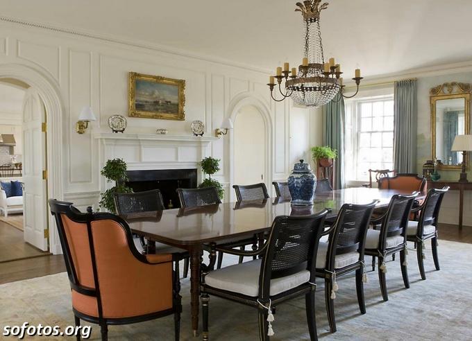 Salas de jantar decoradas (160)