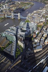 Shadow of The Shard (davidkhardman) Tags: shadow urban london thames towerbridge landscape cityscape shard canonef24105mmf4lis