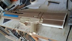 Rough Assembly 2 (malsfantasyfactory) Tags: rifle replica build oblivion