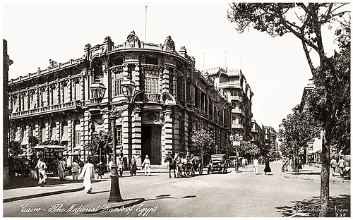 The Old National Bank Of Egypt - Cairo In 1910