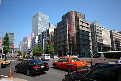 Corner Office (Ayrcan) Tags: street city urban japan buildings tokyo asia metropolis honshu