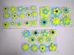 Flowers shape No.2 size 3-5 cm (sweetinspirationsaustralia) Tags: cupcaketoppers