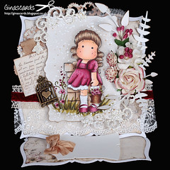 130601a (Ginascards) Tags: cards whimsy hand magnolia wee tilda coloured sylvia easel zet