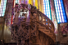 LICHTSPIELE - Gioco di Luci (surom1992) Tags: vienna wien austria sterreich kirche chiesa di stephansdom luci duomo santo lichter stefano gioco lichtspiele
