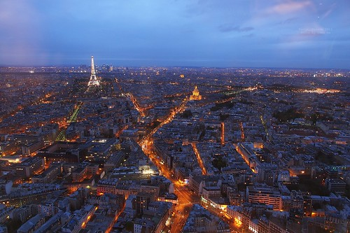 Paris skyline, France by Luke,Ma, on Flickr
