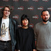 Christopher Huber, Inge De Leeuw  and Ricardo Matos Cabo at the Shorts Film Jury photocall
