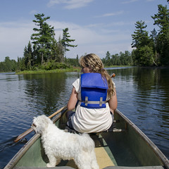 laker12352.jpg (keithlevit) Tags: sky dog pets lake ontario canada tree tourism water puppy outdoors boat day sitting child tourist transportation boating rowing oar tween rearview vacations enjoyment lifejacket kenora lakeofthewoods oneperson lookingaway traveldestinations leisureactivity keewatin zuchon onegirlonly squareimage preadolescentchild