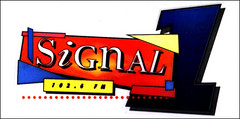 Signal 1 car sticker