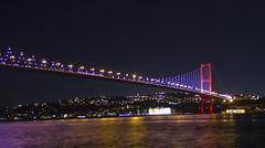 Bosphorus Bridge as seen from Ortakoy, Istanbul (The Silent Man_) Tags: turkey turkiye istanbul hdr