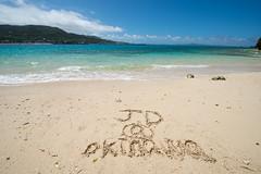 -Okinawa Japan (J.D Chen ) Tags: trip travel blue sea vacation japan island nikon tour  nippon okinawa backpacker f28 d800  1424