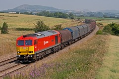 Commonplace (Richie B.) Tags: shropshire traction brush db class 60 schenker procor wistanstow 6v75