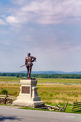 111th New York Monument at Gettysburg.jpg (Rock Steady Images) Tags: camera vacation usa monument canon eos pennsylvania events places equipment gettysburg civilwar cameras 7d processing handheld 200views 50views lenses cartrip topaz 25views niksoftware bypaulchambers canonef2470mmf28iiusm lightroom4 photoshopcs6 rocksteadyimages casparbuber 111thnewyorkvolunteerinfantryregiment