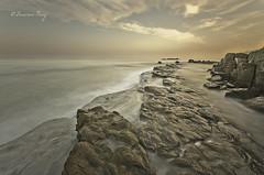 Finales de verano. (Francisco J. Prez.) Tags: naturaleza nature spain paisaje cielo panoramica cdiz playas algeciras sigma1020mm pentaxart pentaxk5 franciscojprez