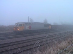 DCR 56311 at Thoresby Colliery (Diesel Dude.) Tags: york cold misty cornwall open earlymorning class mining devon cast railways 56 colliery dcr thoresby class56 56311 butterwell thoresbycolliery ldecr devonandcornwallrailways dcrail