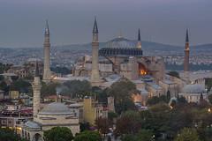 Istanbul-Turkey (ayhanaltun) Tags: turkey muslim prayer religion istanbul images mosque east dome getty middle sophia islamic hagia spritual minater