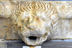 Lion (RobW_) Tags: statue ancient lion september greece tuesday olympia ilia peloponnese 2013 sep2013 17sep2013
