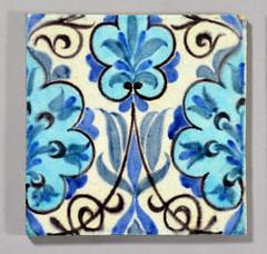 William De Morgan tile (robmcrorie) Tags: century tile ceramic de design factory crafts arts william pot end works pottery morgan sands fulham 19th 1898 1888 demorgan williamdemorgan