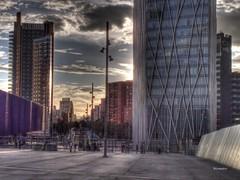 Diagonal sunset IV (wsrmatre) Tags: barcelona city espaa architecture spain arquitectura ciudad urbano espagne hdr ville barcelone urbanismo ericlpezcontini ericlopezcontini ericlopezcontinifoto ericlopezcontiniphoto ericlopezcontiniphotography wsrmatrephotography wsrmatre
