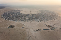 Burning Man 2013 Aerial Photo (Duncan Rawlinson - Duncan.co) Tags: usa canon nevada uploaded burningman spaceship 2013 canoneos5dmarkii 5dmkii photobyduncanrawlinson httpduncanco burningman2013 duncanrawlinsonphotography httpwwwduncanco
