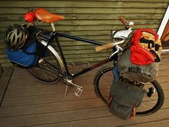 El Burro Tour Bike (guidedbybicycle) Tags: camping bike bicycle tour handmade steel archer custom touring panniers sturmey