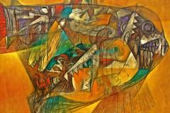 Barracuda (Campanero Rumbero) Tags: color muro art colors wall painting pared paint arte expo colores museo pintura republicadominicana santodomingo pincelada