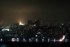 Pyongyang by night, North Korea (raphael_o) Tags: night hotel july northkorea pyongyang dprk 2013 yanggakdo coredunord