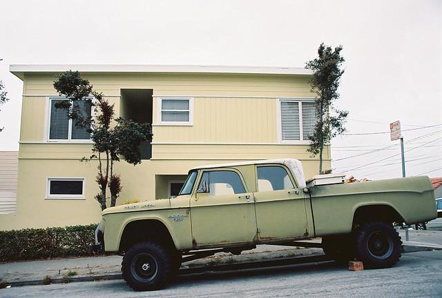 pickup pickuptruck foundinsf nikonn60 dodgepowerwagon kodakektar gwsf
