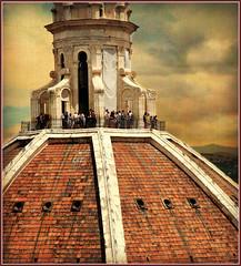 Coupole et lanterne de pierre de Filippo Brunelleschi, Duomo Santa Maria del Fiore, Firenze (claude lina) Tags: italy florence tuscany firenze italie toscan creativemindsphotography mygearandme mygearandmepremium mygearandmebronze mygearandmesilver mygearandmegold
