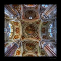 St.Mang ceiling (Kemoauc) Tags: church bayern bavaria nikon kirche ceiling decke fresco hdr jrg topaz fresko fssen deckengemlde stmang photomatix d300s kemoauc sentko