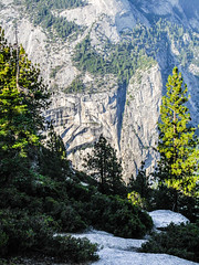 Glacier Point Path (pooroldtim) Tags: california trees beauty canon landscape pines valley yosemite granite glacierpoint canonpowershotg10