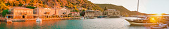 Behramkale Harbour (Steven Johnson Photography) Tags: panorama turkey assos behramkale