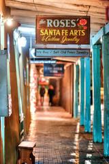 Shopping in Santa Fe (MichellePhotos2) Tags: christmas roses holiday newmexico santafe art window shopping nikon 85mm jewelry d800e nikond800e