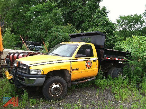 ny truck town highway dumptruck dump dodge government plow department cummins municipal 59 3500 orangetown