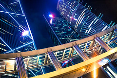 Electric experience (daniel.chodusov) Tags: city night hongkong citylife nightlife traveling skyscapper