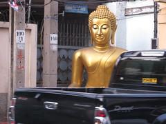 Bangkok Buddha (ashabot) Tags: thailand gold bangkok buddha buddhist cities streetscenes